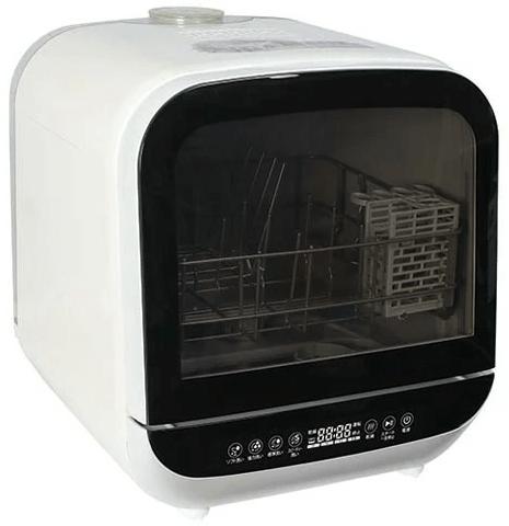 親子3人分の食器洗いは1回か2回か? エスケイジャパンの食洗機を1ヶ月間使ってみた