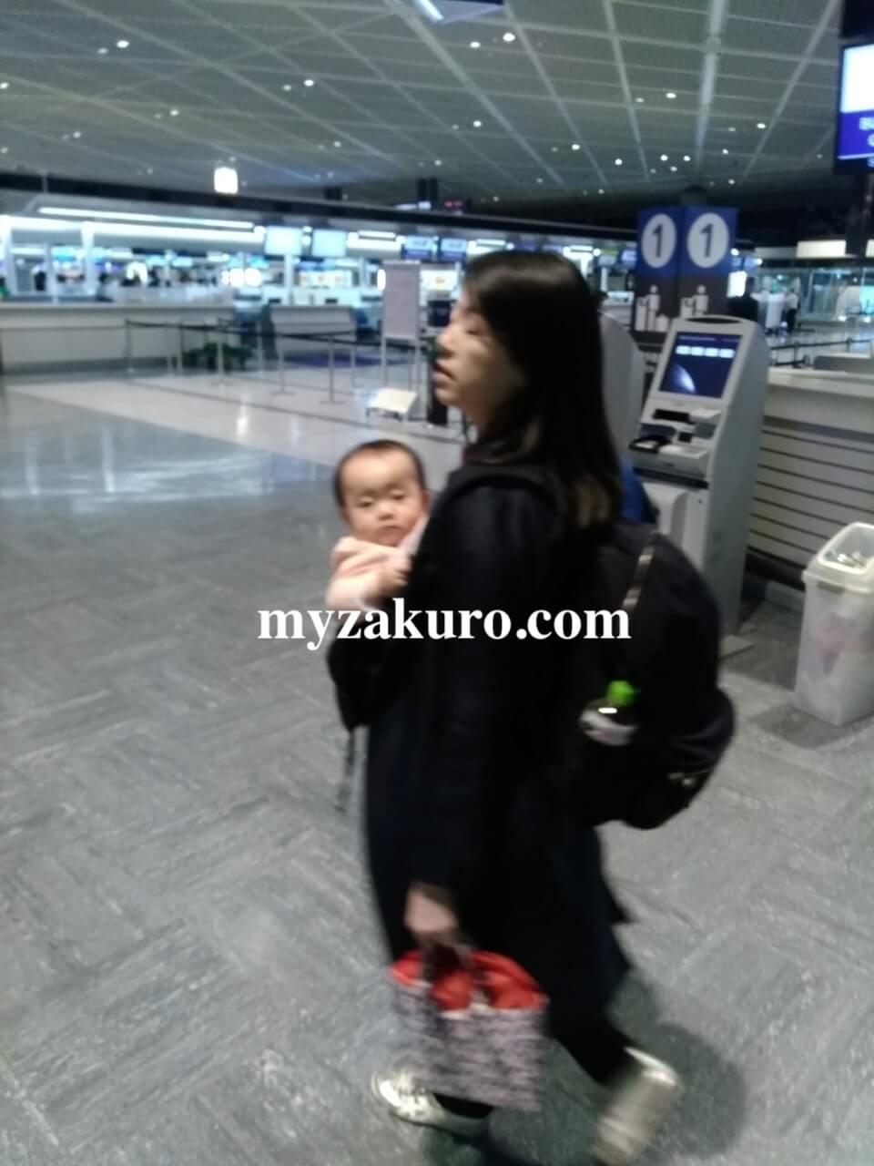 日本出発〜グアム到着まで(飛行機の様子など)