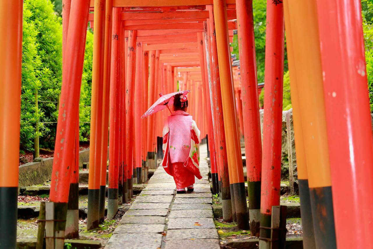 【体験】根津神社で七五三(3歳)の写真撮影をしてきました