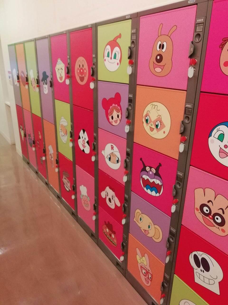 仙台アンパンマンミュージアムのコインロッカー事情
