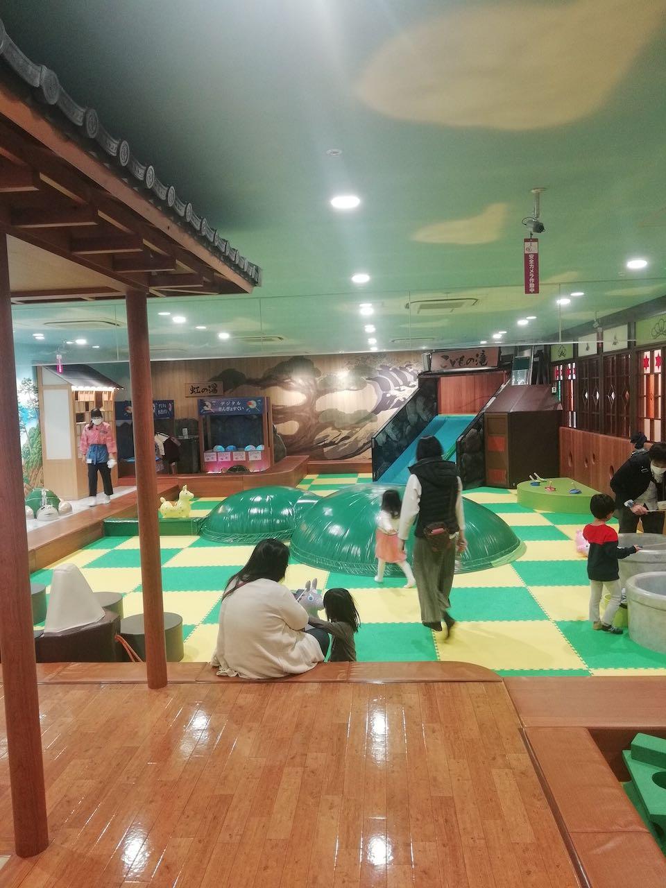 ボールプールが休止した東京スカイツリーのソラマチ「東京こども区 こどもの湯」に行ってきた